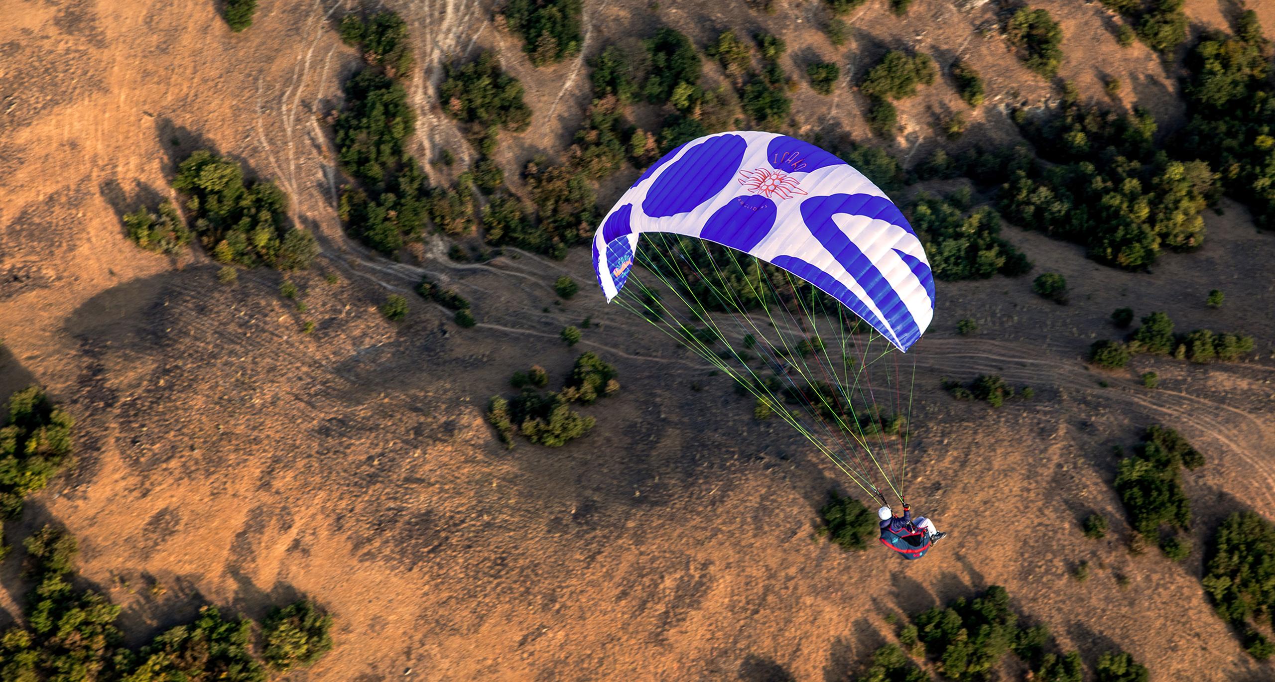 Pandion Icaro Paragliders