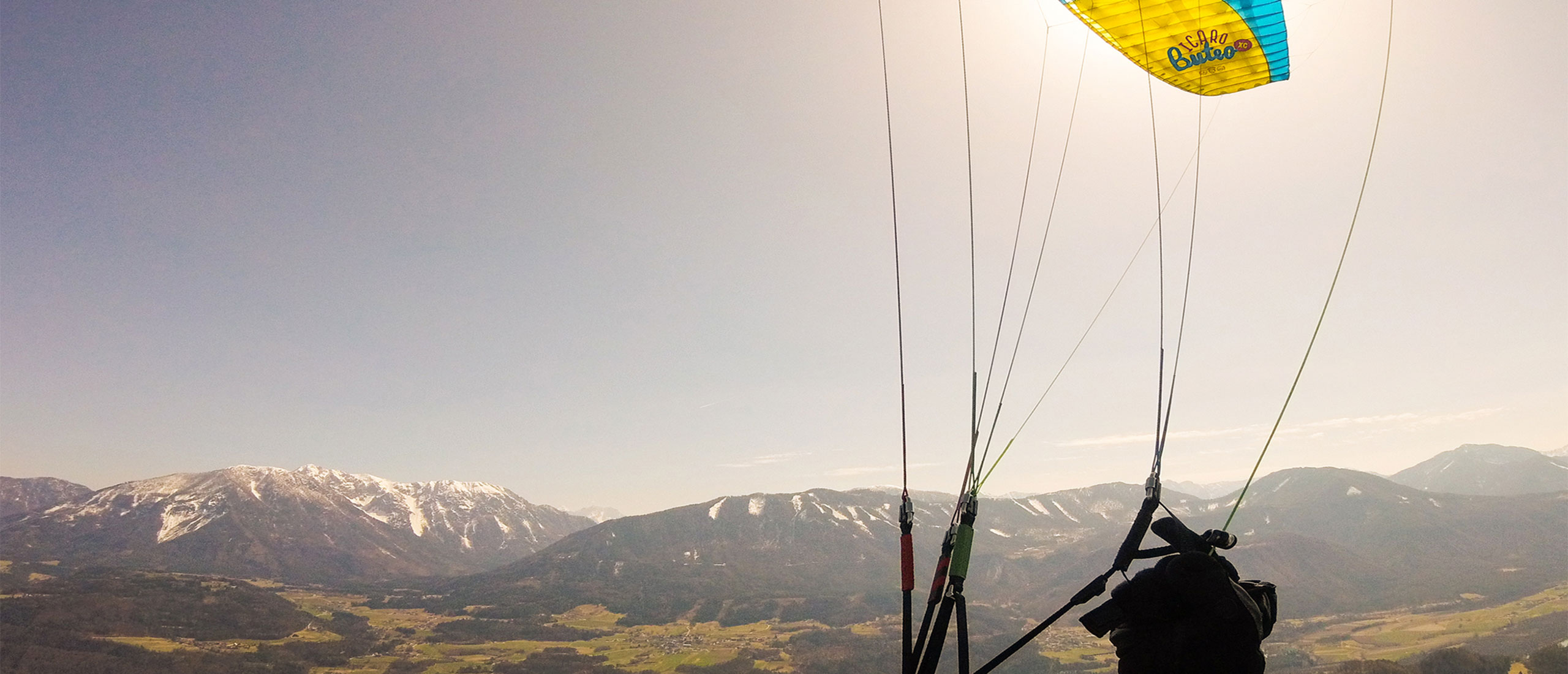 What is C- or REAR-riser steering? – ICARO Paragliders